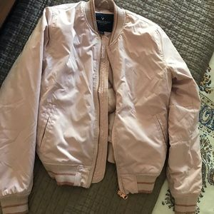 American Eagle soft pink Jacket